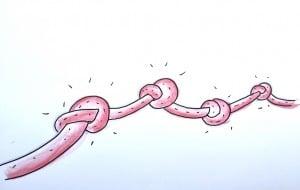 Krisen, Knoten und Veränderungen